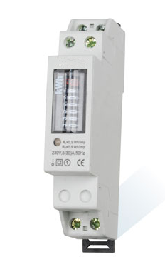 型单相导轨式电能表是我公司采用微电子技术与进口专用大规模集成电路
